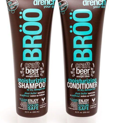 BROO Craft Beer Moisturizing Shampoo