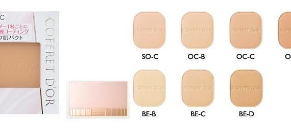 Coffret d`Or Silky Fit Pact UV Moist