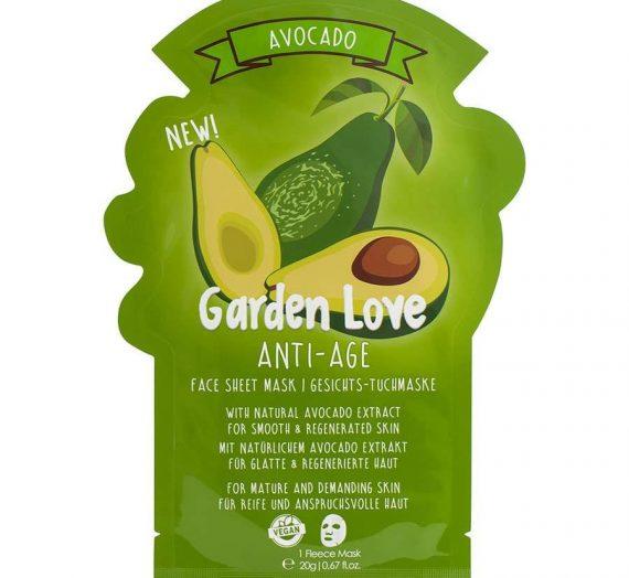 Garden Love Anti-Age Sheet Mask – Avocado