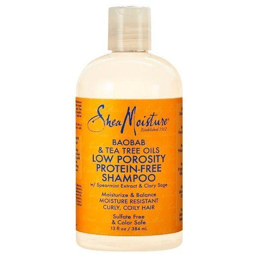 Baobab & Tea Tree Low Porosity Protein-Free Shampoo