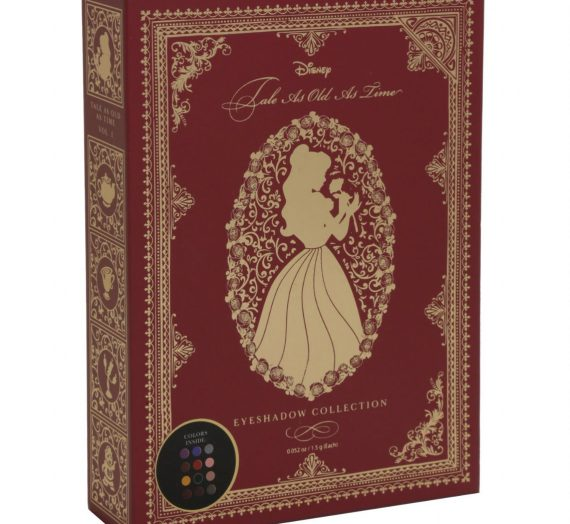 Disney Beauty and the Beast Tale As Old As Time Eye Shadow Palette