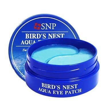 SNP- Bird`s Nest Aqua Eye Patch