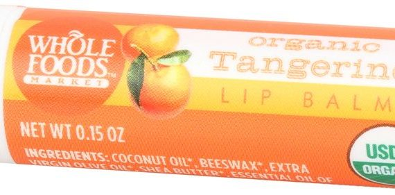 Whole Foods Organic Tangerine Lip Balm