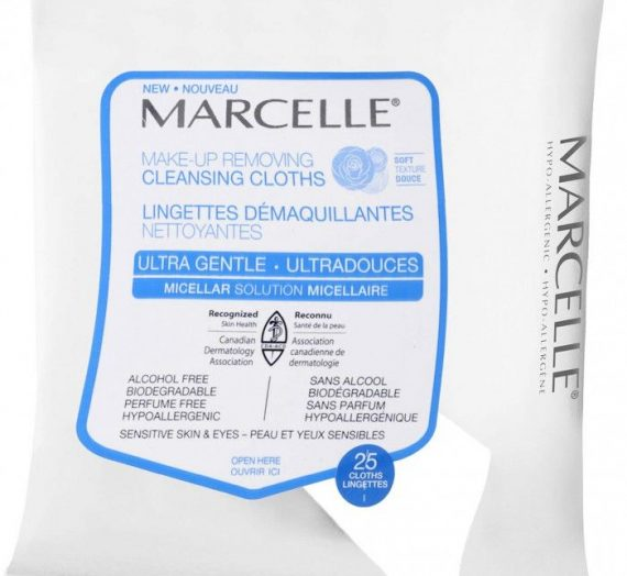 Makeup Removing Cleansing Cloths – Ultra Gentle Micellar Solution