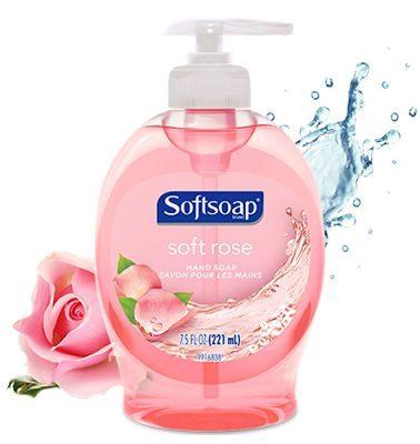 Soft Rose Liquid Hand Soap