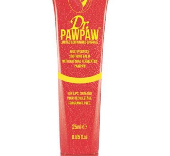 Dr. PawPaw limited edition red sparkle multipurpose balm