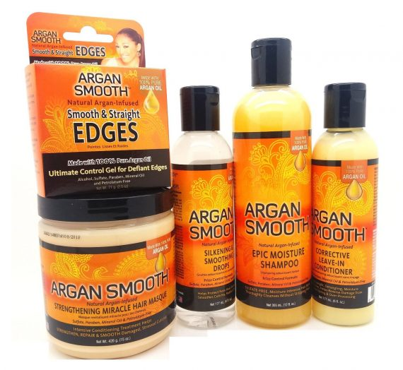 Argan Smooth Hair Care