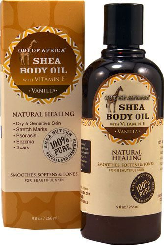 Out Of Africa Shea Butter Body Oil with Vitamin E Vanilla