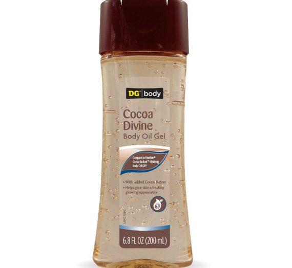 DG Beauty Cocoa Butter Body Oil Gel
