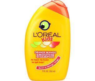 L'Oreal Kids Shampoo-Orange/Mango Smoothie