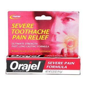 Orajel – Severe Pain Formula