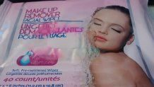 Dollar Tree -Make Up Remover Facial Wipes