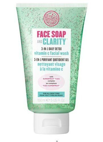 Face Soap & Clarity 3-in-1 Daily Facial Wash