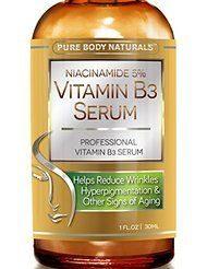 Pure Body Naturals – Niacinamide 5% Vitamin B3 Serum
