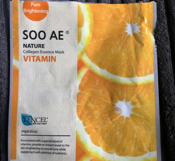SOO AE Nature Collegen Essence Mask – Vitamin